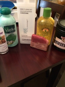 wash day products!